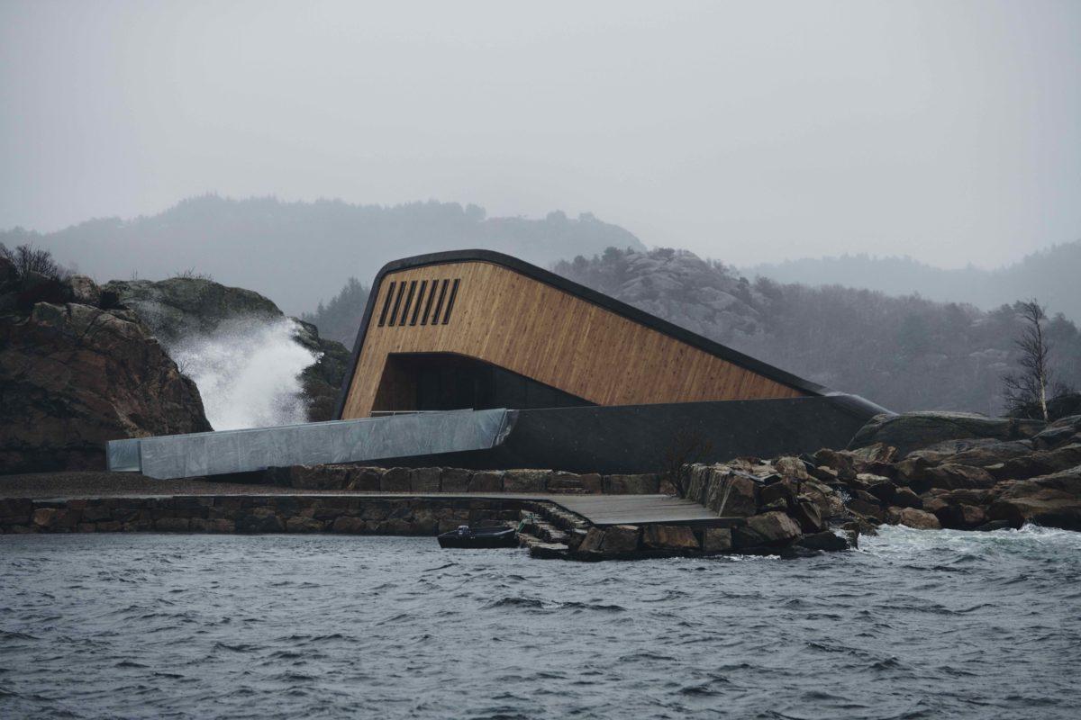 Das Unterwasser-Restaurant in Norwegen ist auf jeden Fall ein Besuch wert.