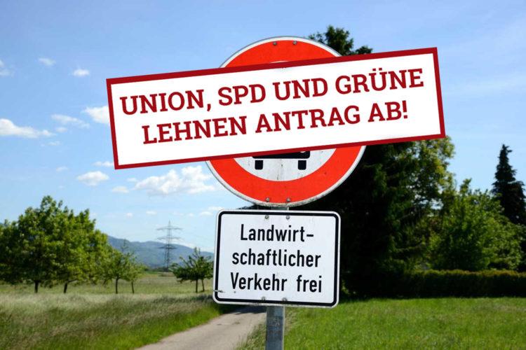 """FDP Antrag """"Freie Fahrt für Angler"""" durch Union, SPD und Grüne abgelehnt."""