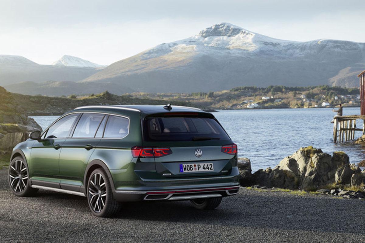 VW-Passat Alltrack mit Allradantrieb und Triebwerkunterschutz