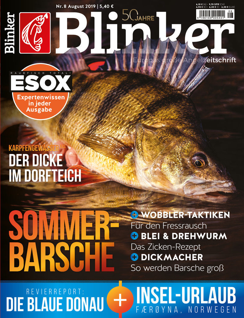 Blinker Magazin 08/2019