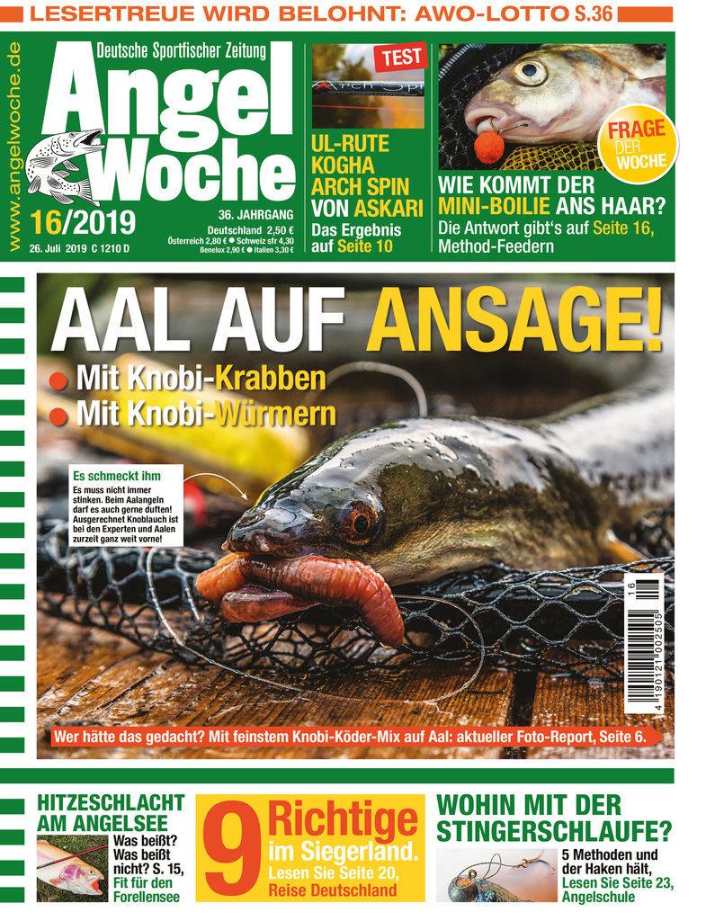 Titelbild AngelWoche Ausgabe 16/2019
