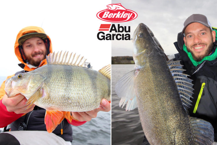 Freddy Harbort und Timo Rosche vertreten zukünftig die Marken Berkley und Abu Garcia.