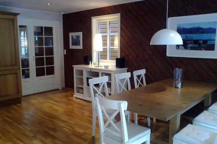 Das Bootshaus ist modern eingerichtet und bietet allen Komfort, den man für einen Angelurlaub benötigt.