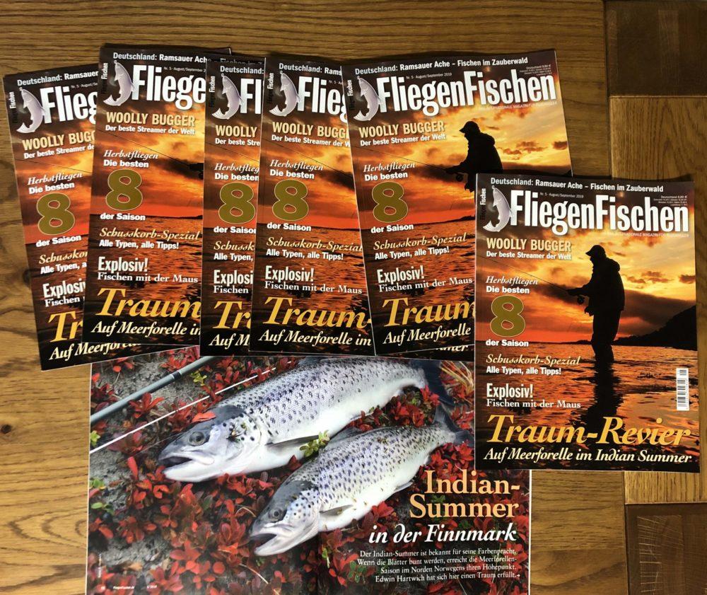 Alles über den besten Streamer der Welt lesen Sie in FliegenFischen 5-2019! Sie erfahren zum Beispiel, welches Tier der Woolly Bugger imitiert, wie man ihn am besten einsetzt und welche Farben des Woolly Buggers die unterschiedlichen Fischarten bevorzugen!