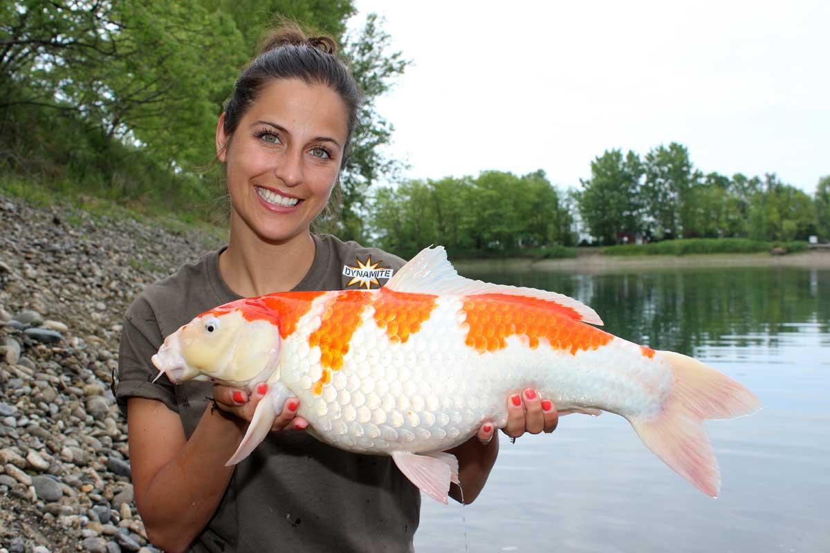 Claudia Darga ist Deutschlands bekannteste Karpfenanglerin.