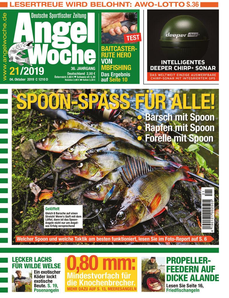 Titelbild AngelWoche Ausgabe 21/2019