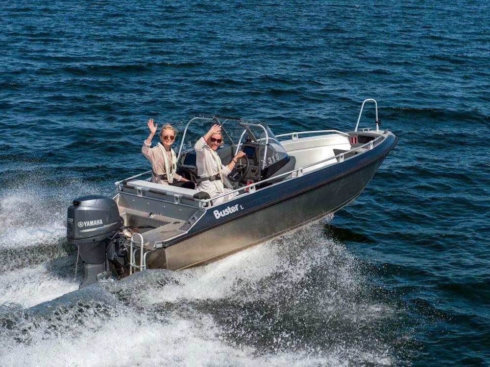 Mit diesem Angelboot erreicht Ihr sicher und schnell die Angelspots im Fjord oder auf dem offenen Meer erreichen.