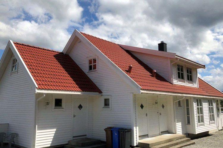 Das große Ferienhaus bietet Platz für bis zu 8 Personen.