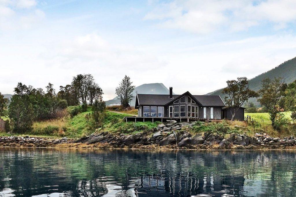 Ein DanCenter Ferienhaus in Norwegen, in dem Ihr Euren nächsten Angelurlaub verbringen könntet.