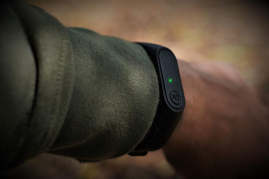 Gefühl für den Biss – mit dem smarten Armband kein Problem.