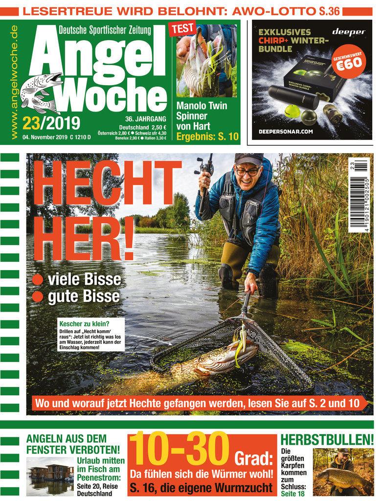 Titelbild AngelWoche Ausgabe 23 2019