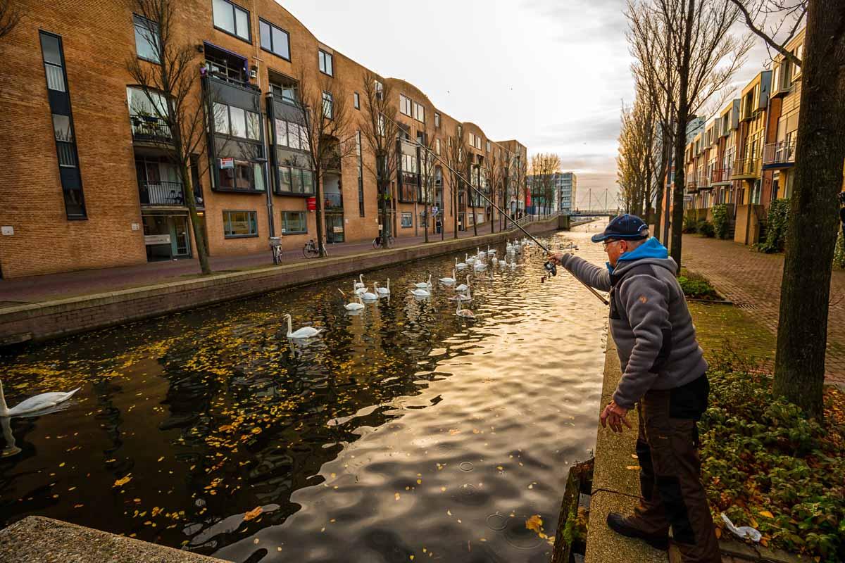 In Almere besteht jederzeit die Chance auf einen richtig kapitalen Hecht! Foto: Sportvisserij Nederland