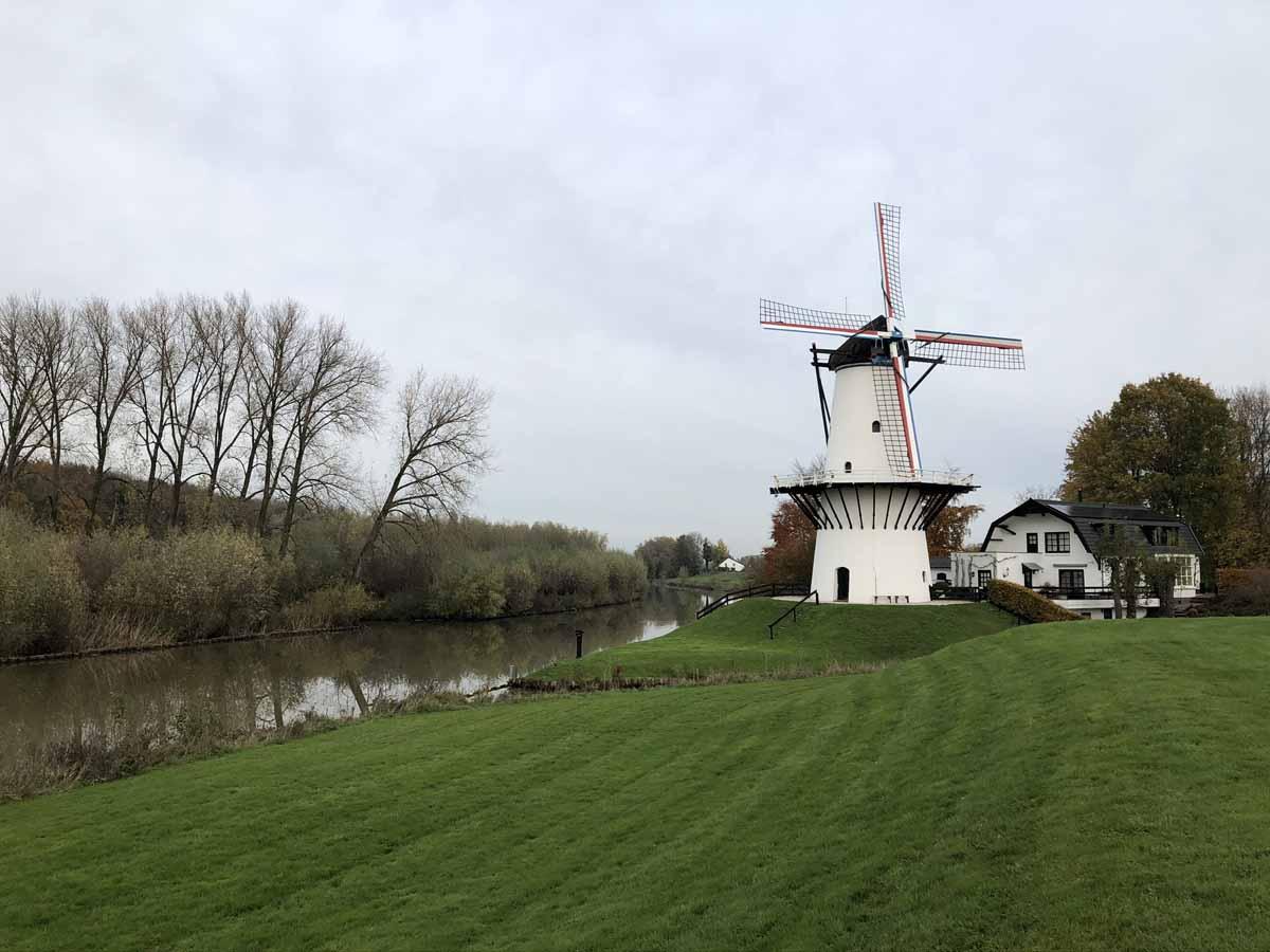 Aufgrund des trüben Wassers sind am Rivier de Linge grelle Kunstköder am erfolgreichsten. Foto: Sportvisserij Nederland