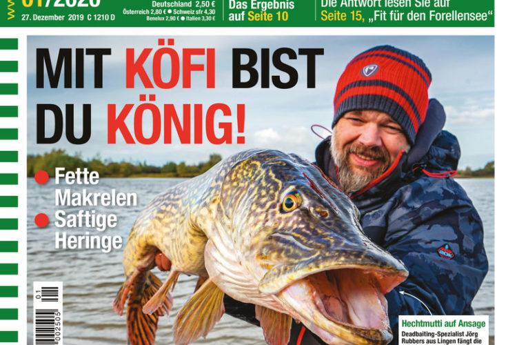 Titelbild AngelWoche Ausgabe 01/2020