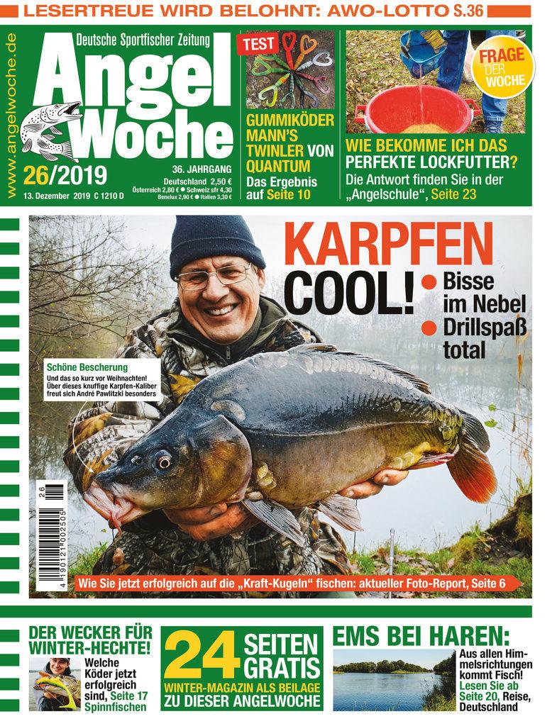 Der Titel der AngelWoche Ausgabe 26 2019.