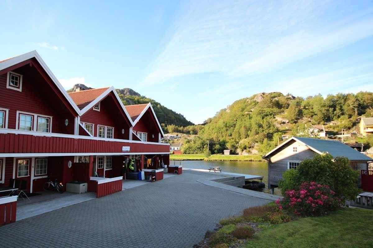 Wer seinen Angelurlaub am Rekefjordverbringt, der fischt in einem absoluten Top-Revier in Südnorwegen! Foto: Borks