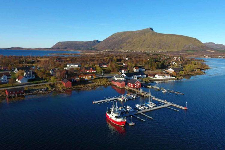Die neue Anlage von Din Tur in Risøyhamn liegt in einem absoluten Traumrevier. Vor allem für kurze Trips seid ihr hier an der richtigen Adresse! Foto: Din Tur