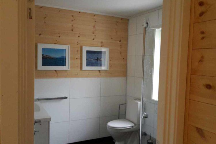 Auch das Badezimmer ist modern eingerichtet. Foto: Borks