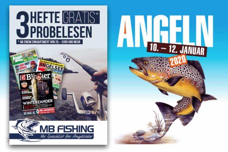 Auf der Angeln Duisburg 2020 wartet ein tolles Angebot von MBFishing und Blinker auf euch! Foto: Blinker