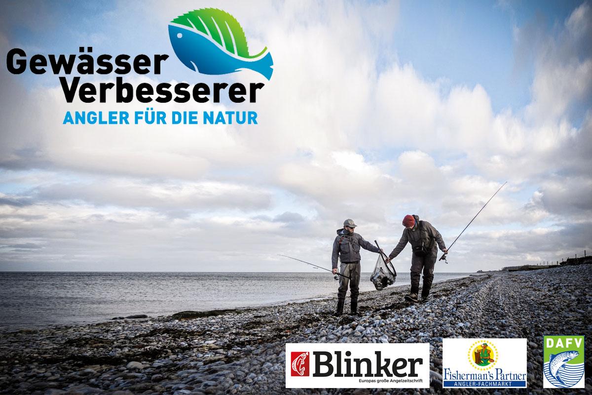 Die Gewässerverbesserer sind ein Projekt vom Blinker, dem DAFV und Fisherman's Partner. Foto: Blinker/J.Radtke