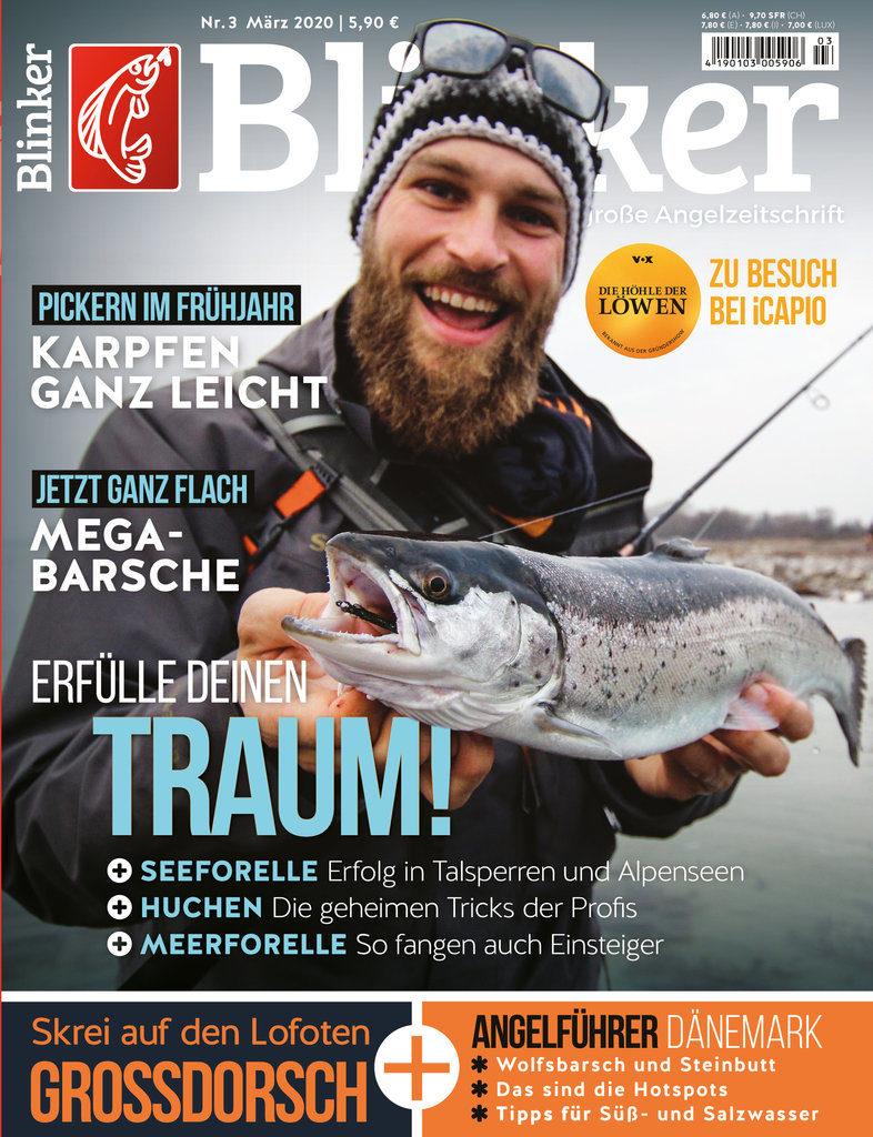 Der neue Blinker 03/2020 – ab dem 11. Februar am Kiosk! Foto: BLINKER