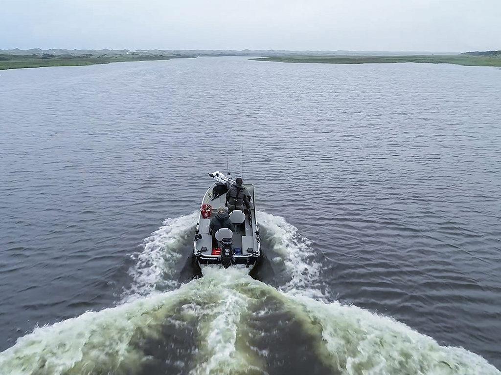 Der Ringkøbing Fjord bietet 300 Quadratkilometer Brackwasser – ein Paradies für Raubfischangler! Foto: BLINKER