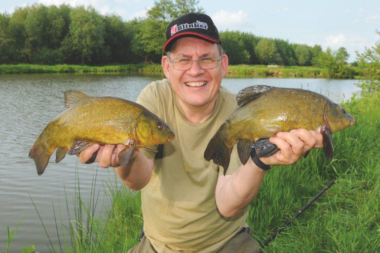 Die Schleie ist nicht einfach zu fangen. André Pawlitzki zeigt Dir, wie man diesen schönen Fisch ganz einfach fangen kann. Foto: S. Kaufmann