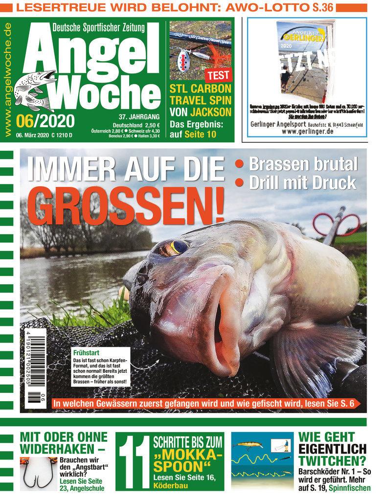 Titelbild AngelWoche Ausgabe 06 2020