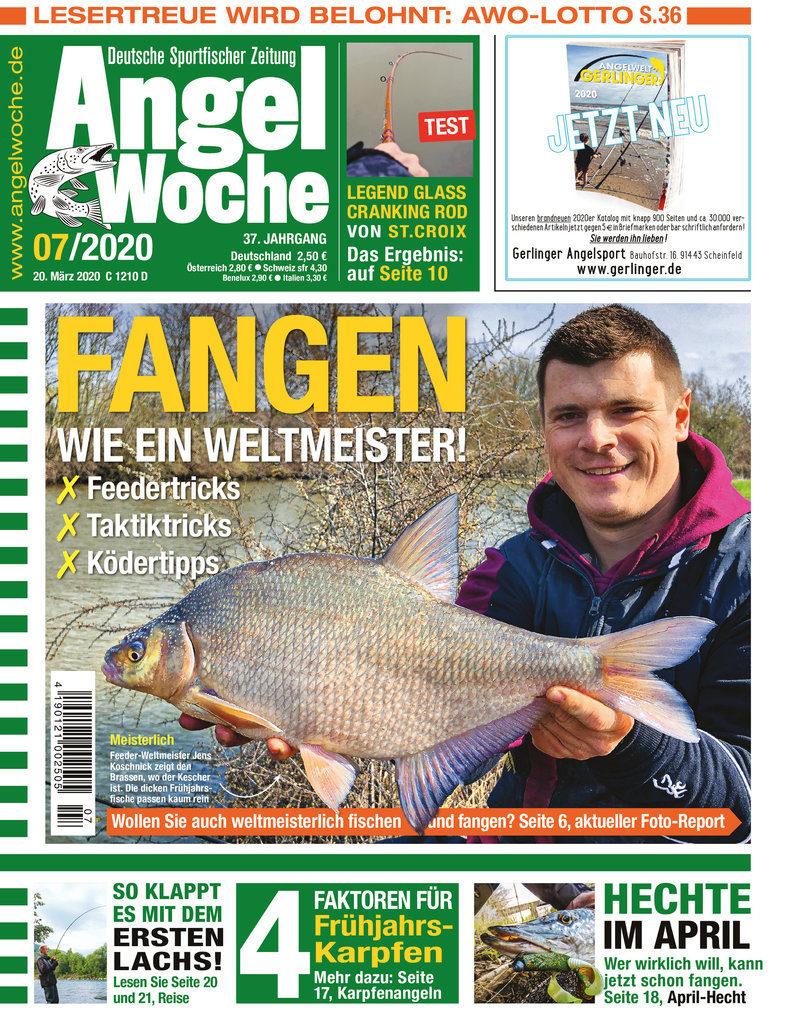Titelbild AngelWoche Ausgabe 07/2020