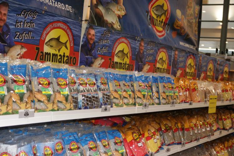 Futter für jede Gewässerlage liefert Michael Zammataro.