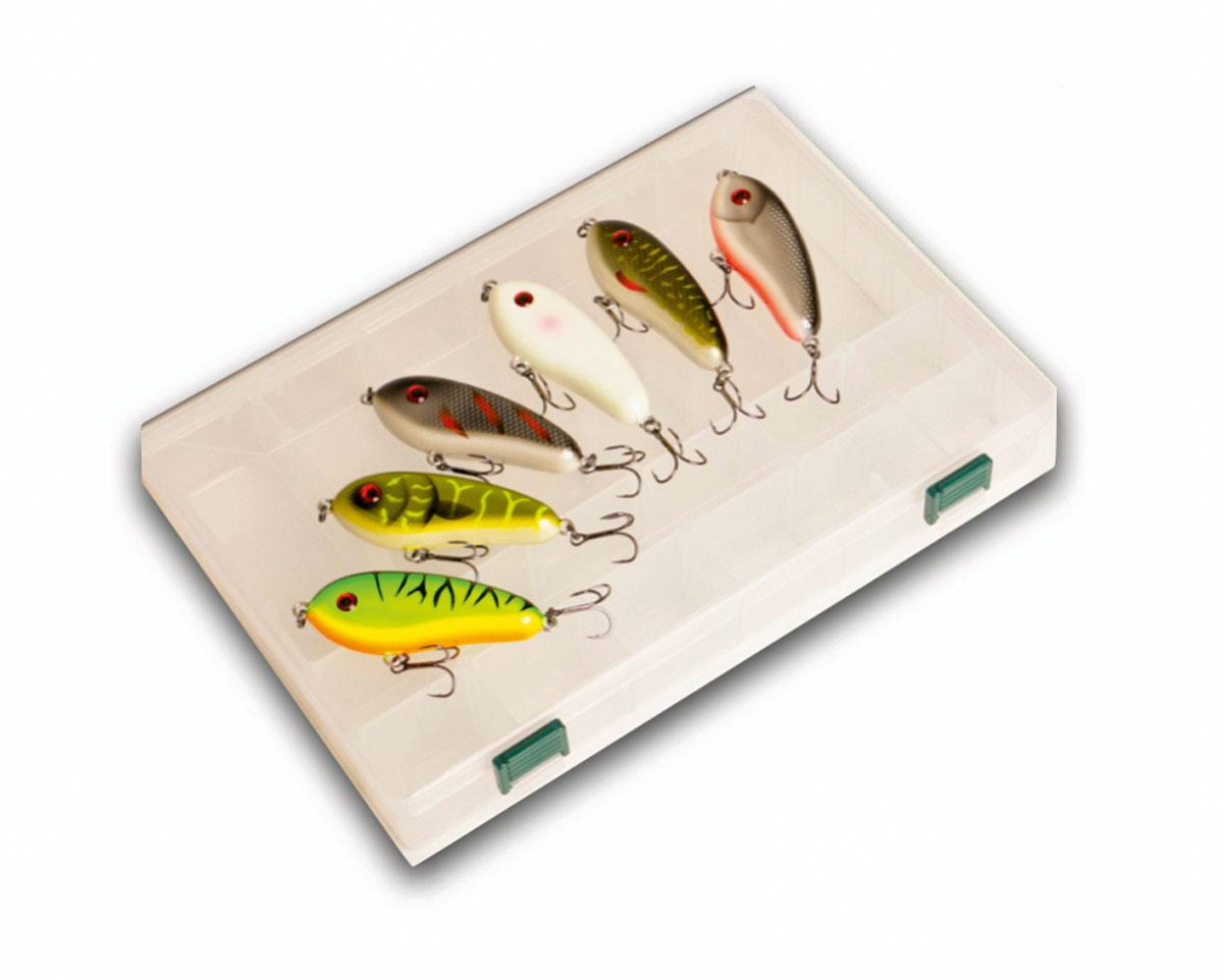 Attraktive Prämie zum BLINKER-Abo: Die Jerkbait-Box von MB Fishing! Bild: BLINKER