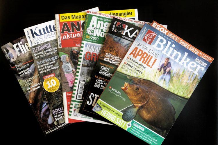 Auch in Krisenzeiten könnt ihr euch alles zum Thema Angeln nach Hause holen – Magazine machen's möglich! Foto: M. Werner