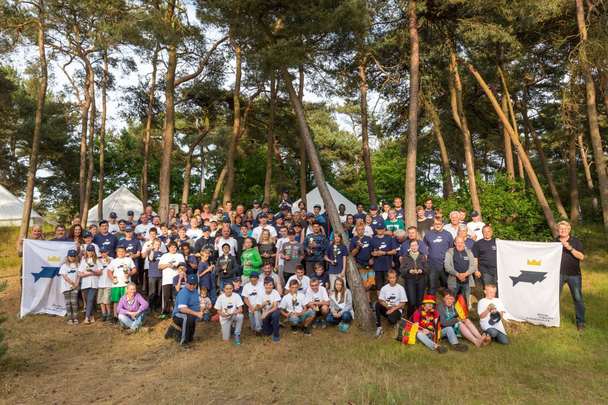 Internationales Jugendangeln der Royal Fishing Kinderhilfe 2016 auf Rügen