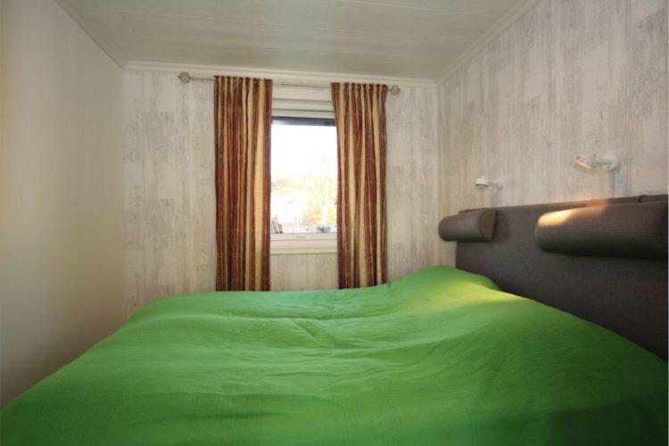 Die Betten des Hauses sind sehr bequem und groß genug, um sich zu zweit nach einem langen, erfolgreichen Angeltag auszuruhen.