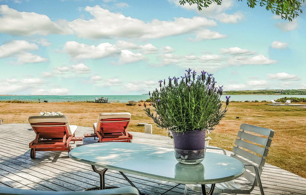 Viele der Ferienhäuser verfügen über eine Terrasse, auf der Sie sich entspannen und einen wunderschönen Ausblick genießen können.
