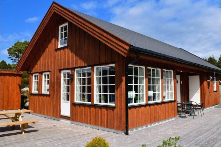 Das Ferienhaus STAVANG bei Florø ist nicht nur modern und komfortabel, sondern liegt auch in unmittelbarer Nähe ausgezeichneter Fischgründe! Foto: Borks