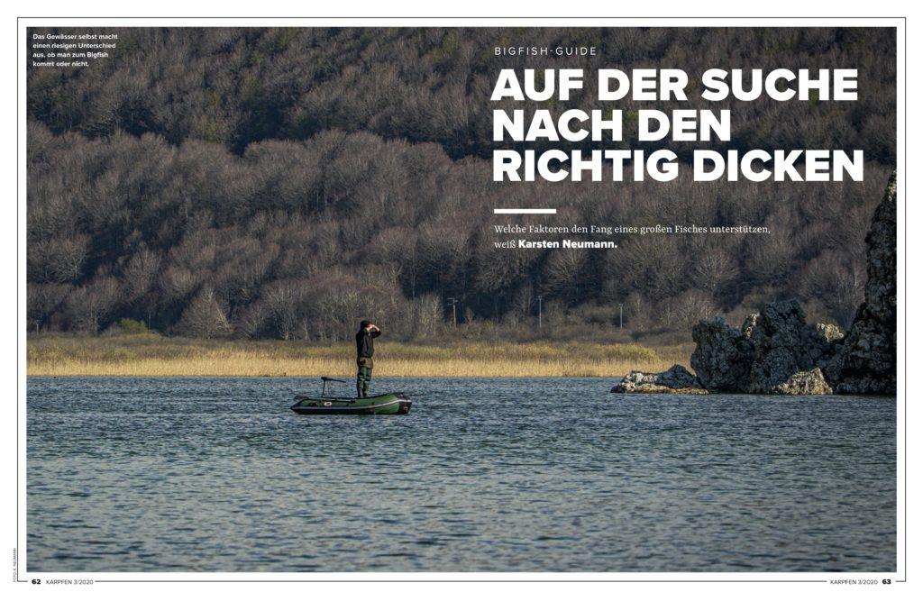 Karsten Neumann beschreibt alle Faktoren, die beim gezielten Fang großer Fische eine wichtige Rolle spielen.