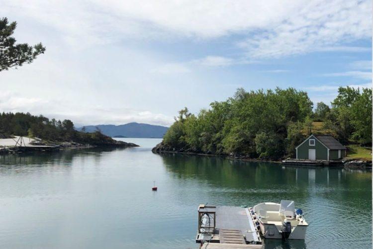 … und die attraktiven Angelgewässer direkt vor der Bucht! Foto: Borks