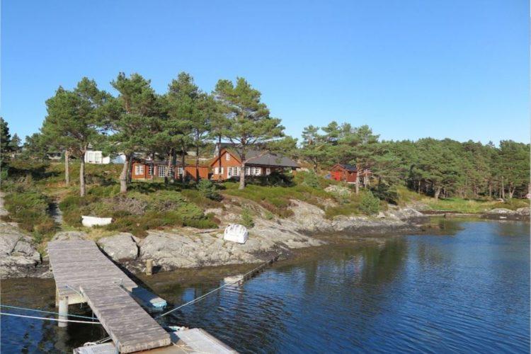 Der Bootssteg liegt direkt vor Ihrer Haustür … Foto: Borks
