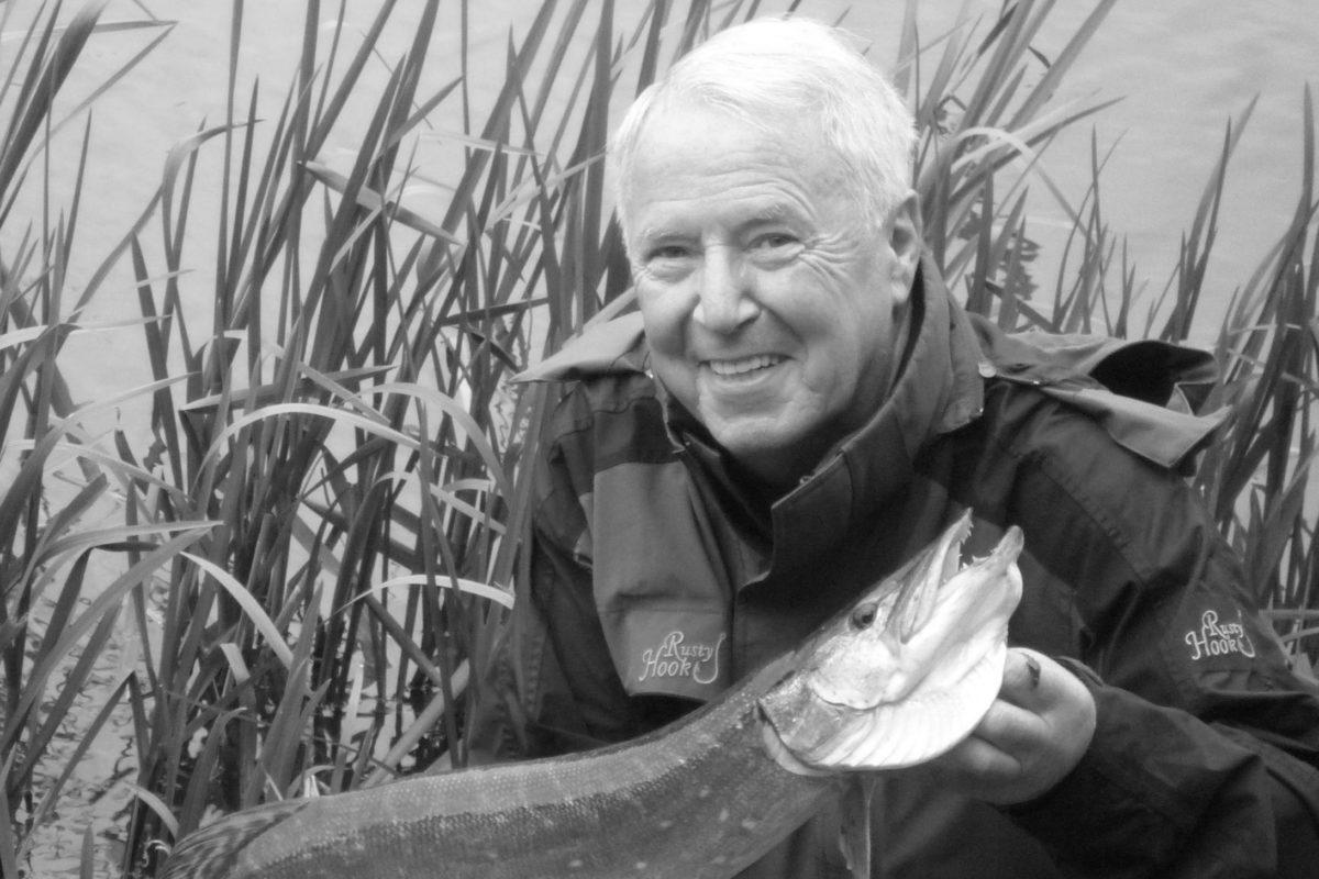Willi Frosch freute sich über jeden Fisch, egal welcher Größe. Foto: Balzer