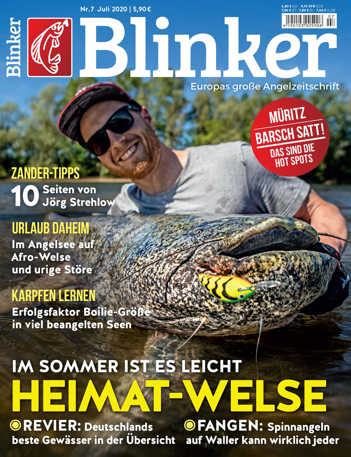 Der neue BLINKER 07/2020 – ab dem 09. Juni im Handel! Bild: BLINKER