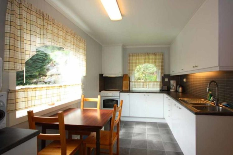 Die voll ausgestattete Küche lässt keine Wünsche offen. Foto: Borks