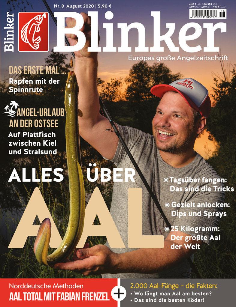 Der neue BLINKER 08/2020 – ab sofort im Handel! Bild: BLINKER