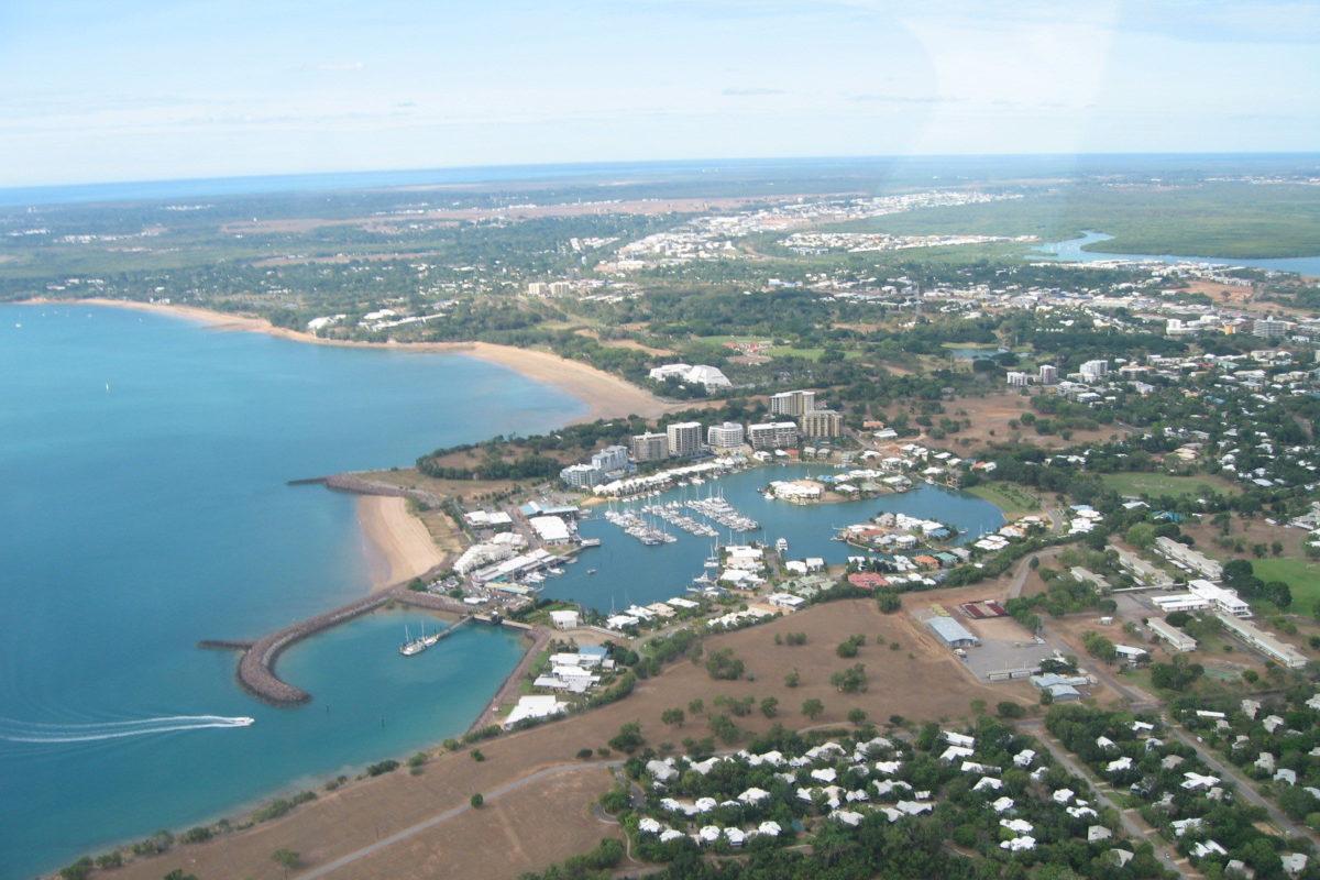 Der Unfall ereignete sich vor Cullen Bay im australischen Darwin. Bild: flickr.com