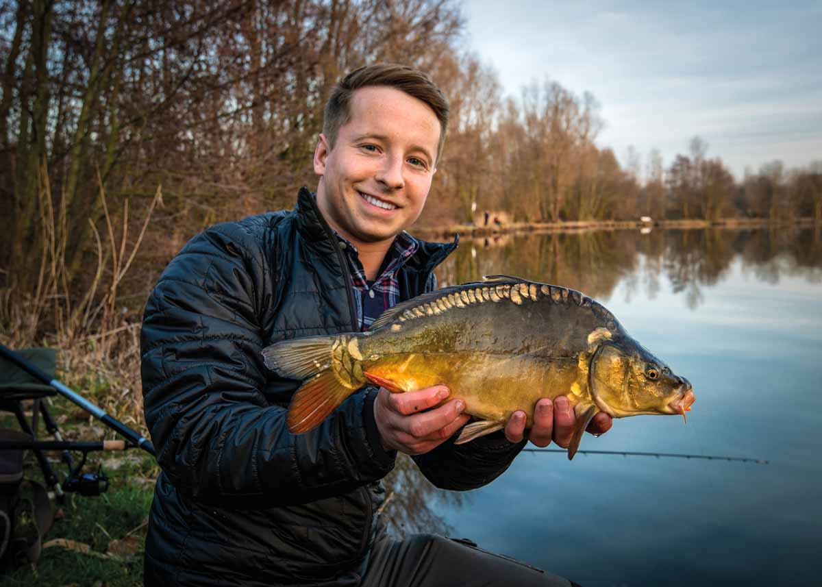 Heutzutage schwimmen im Neckar selbstverständlich auch viele kleine Karpfen umher. Aber auch diese Fische können einmal ganz groß werden.