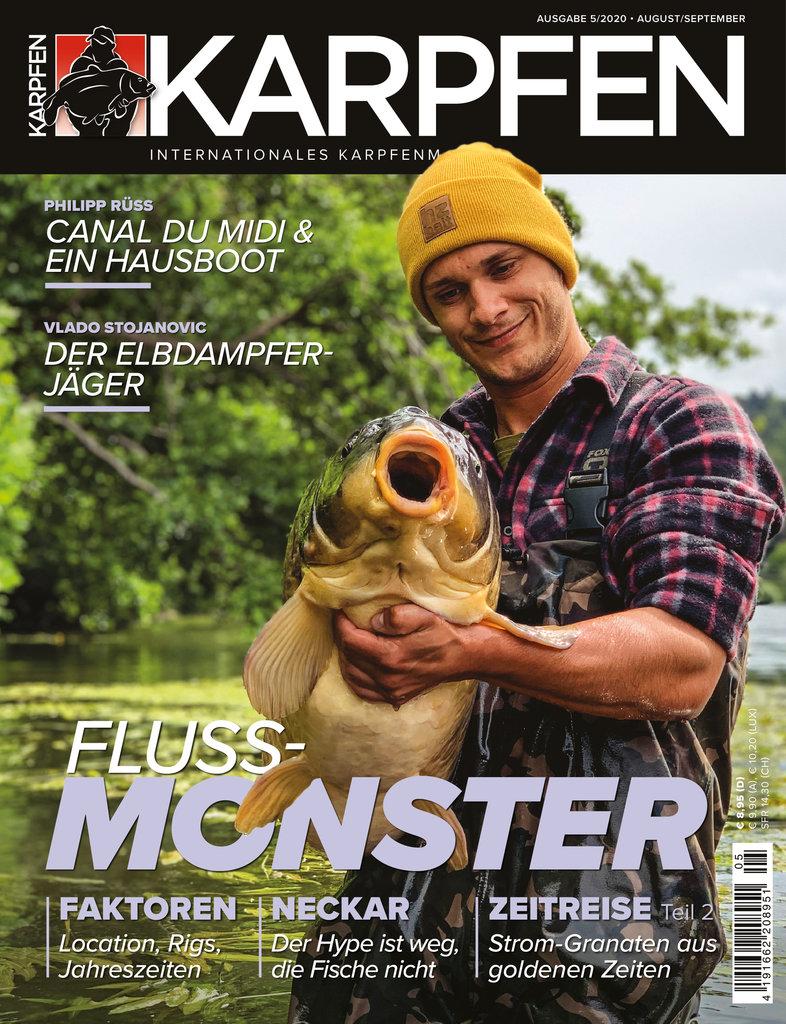Ihr wolltmehr über andereZonen des Neckars erfahren? Hierbekommt ihr Eure Karpfen-Ausgabe mit dem vollständigen Artikel!