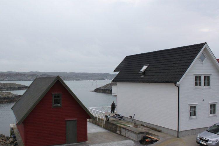 Der Ferienhaus von Borks ist perfekt für einen Angelurlaub in der Nähe von Bergen! Foto: Borks