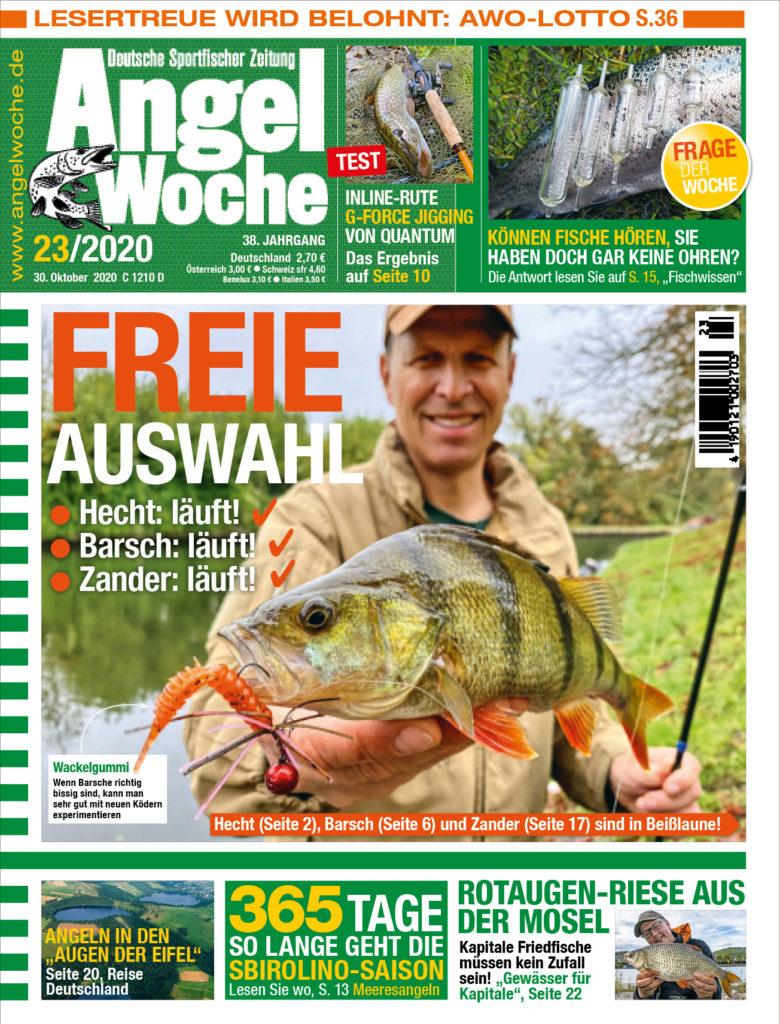 In der AngelWoche 23 lesen Sie neben Hecht, Zander und Barsch noch viele weitere spannende Artikel!