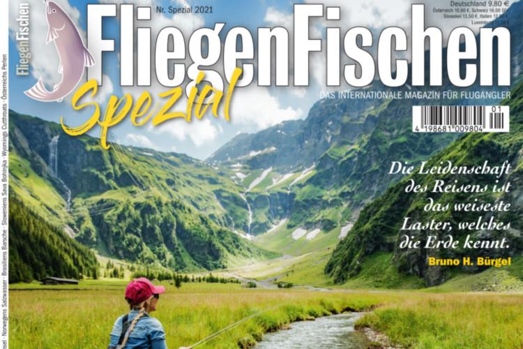 Die neue FliegenFischen Nummer 7(Reise-Spezial)/2020 ist ab sofort im Handel und online erhältlich!