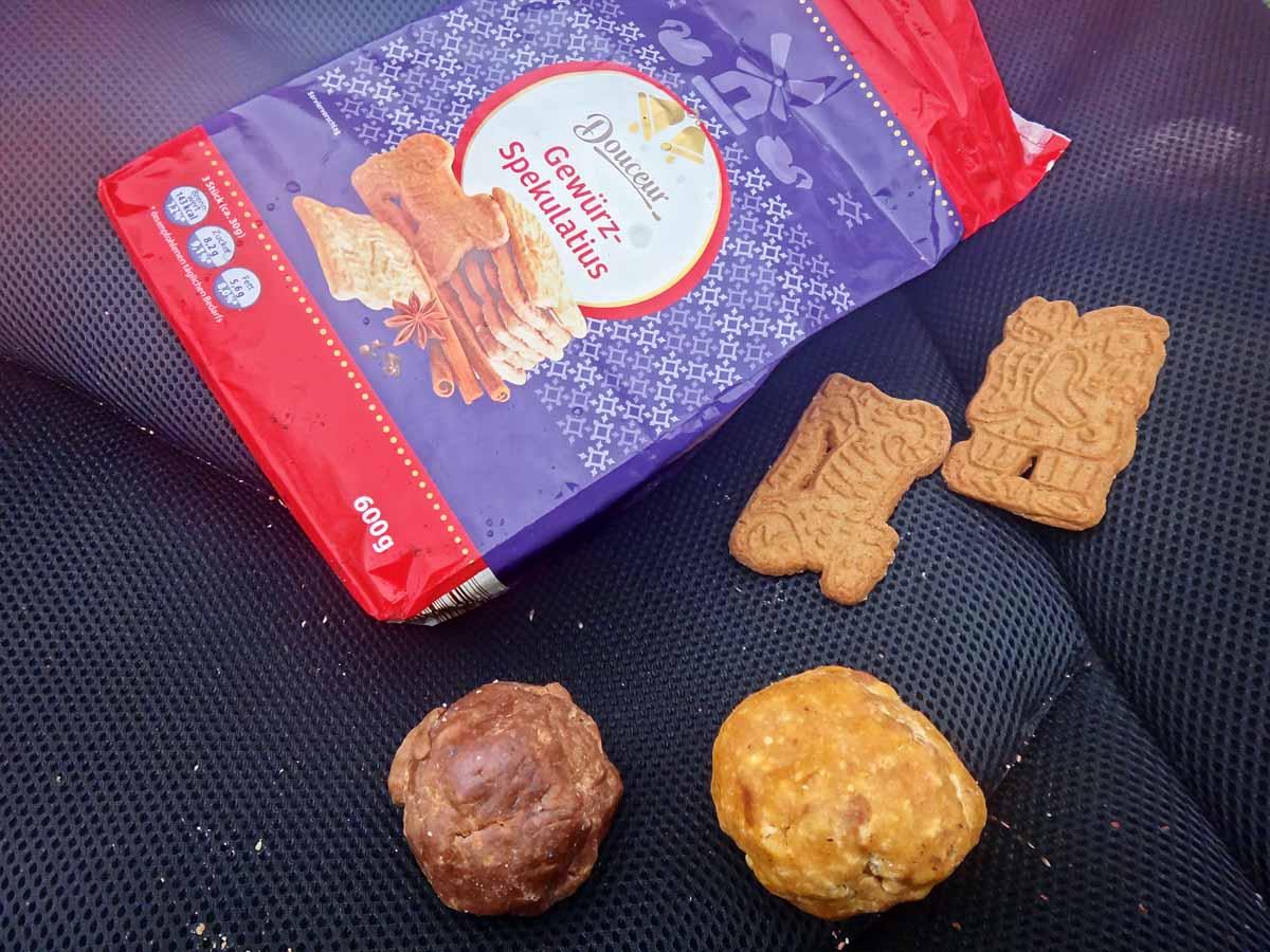 Spekulatius schmeckt nicht nur uns, sondern auch den Karpfen! Mit wenig Aufwand wird aus den Keksen ein fängiger Teig. Foto: BLINKER / A. Pawlitzki